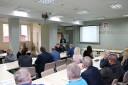 Zdjęcie ze spotkania z pracodawcami powiatu Skarżyskiego