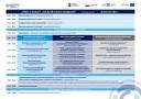 Grafika przedstawia program konferencji praca w branży IT, czyli ZySK na bazie umiejętności